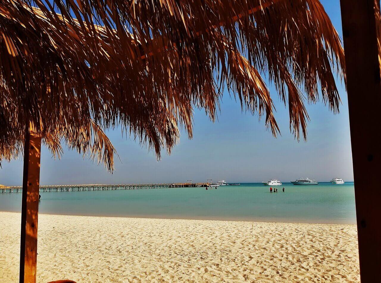 Beautiful beach in Orange bay