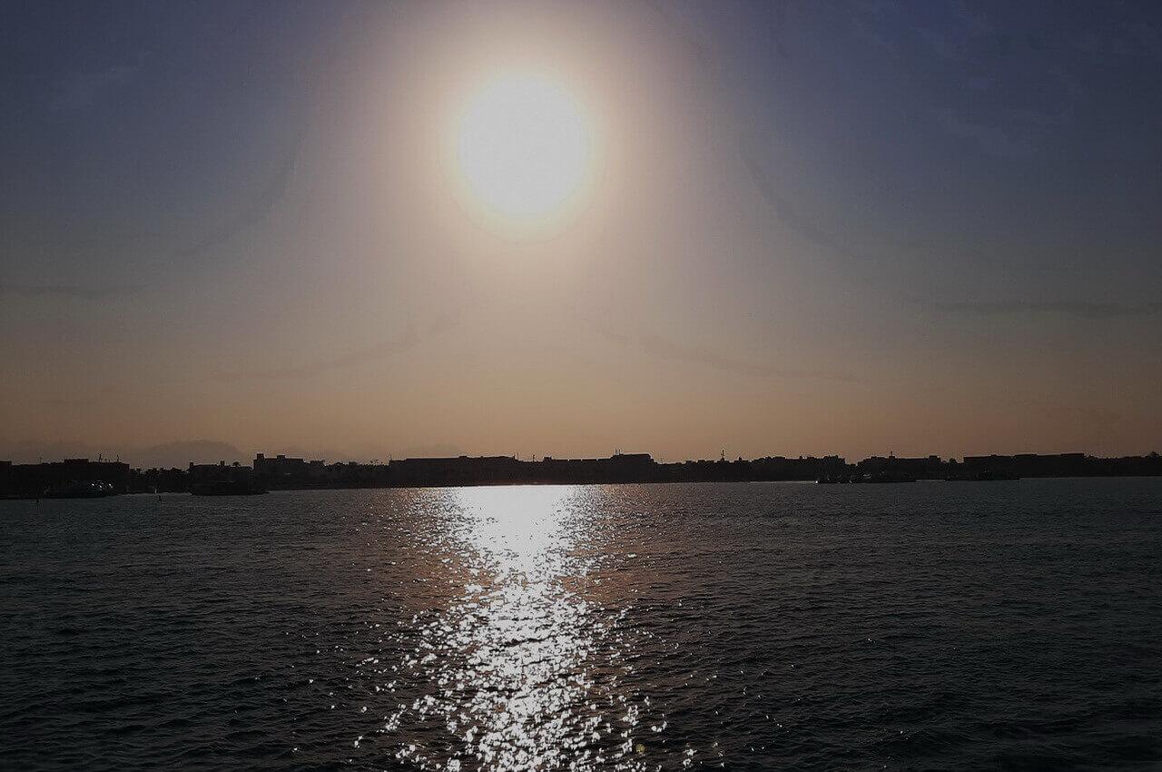 Sunset, Hurghada