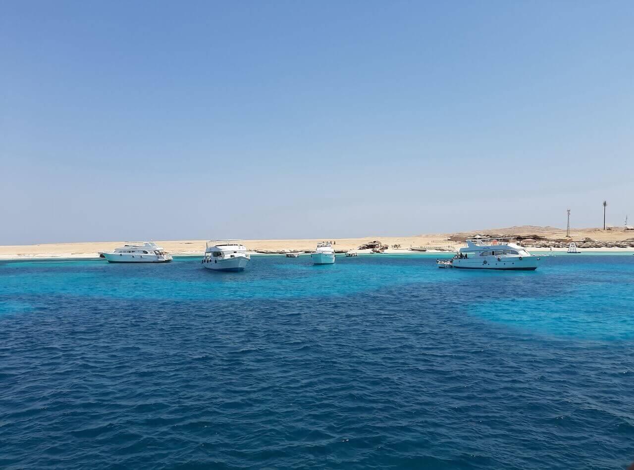 Endless blue sea