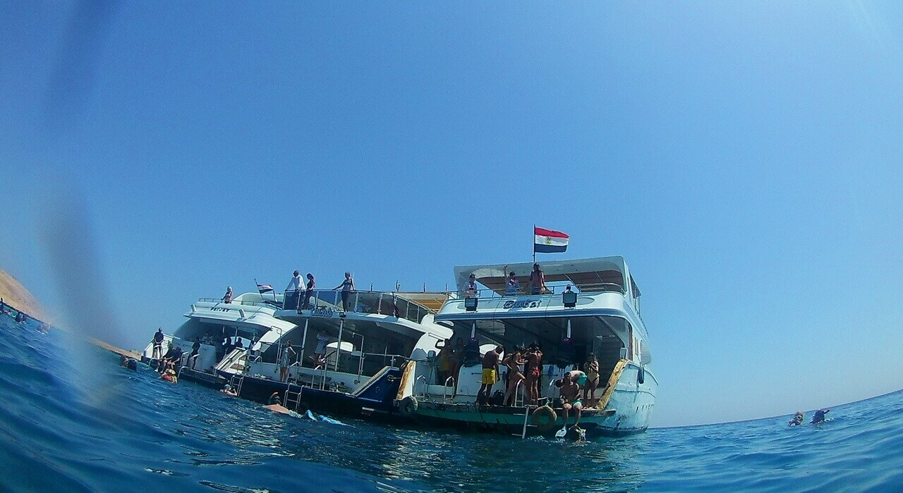 Diving boats, Hurghada