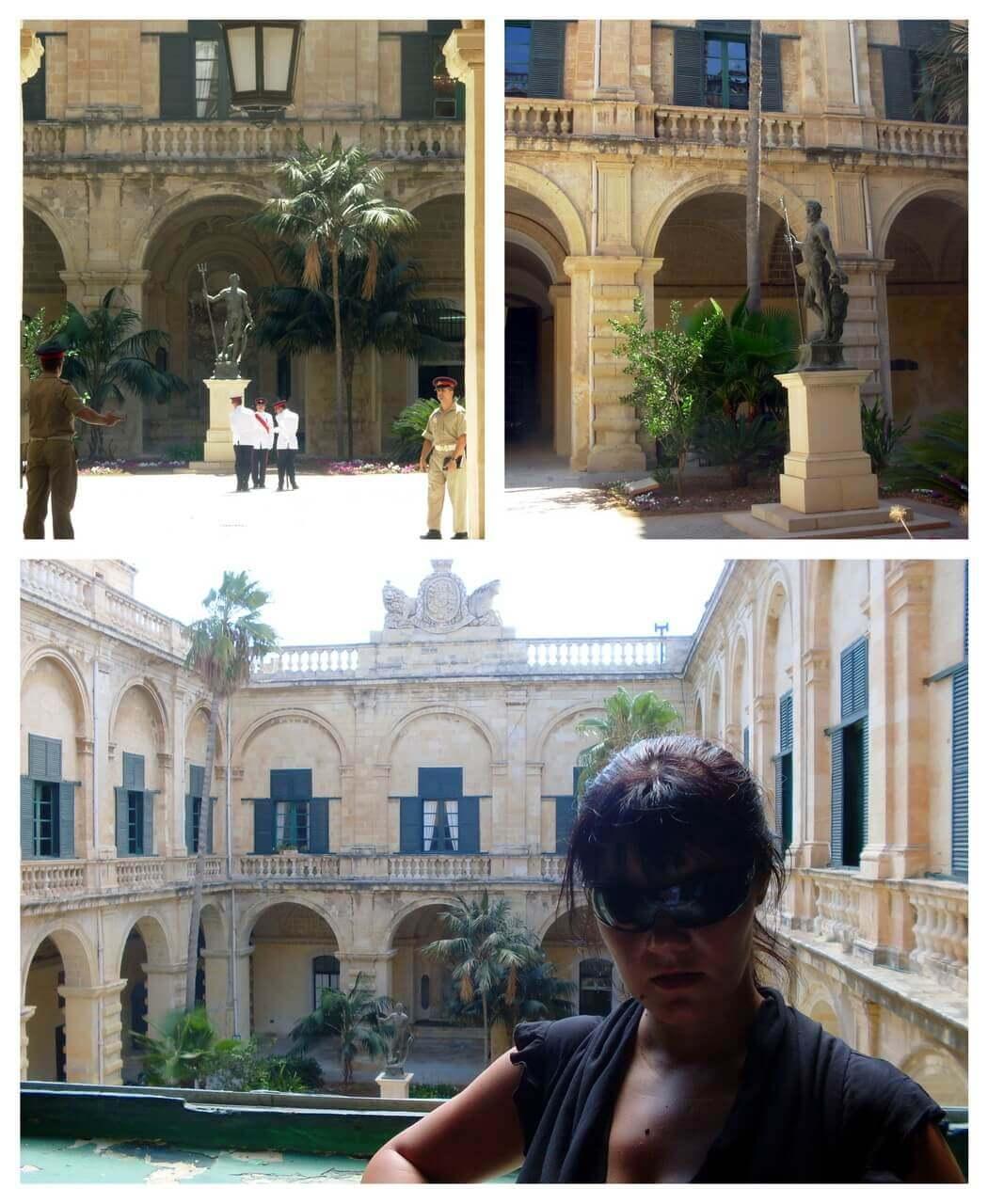 Valletta, Grand Master's Palace, courtyard