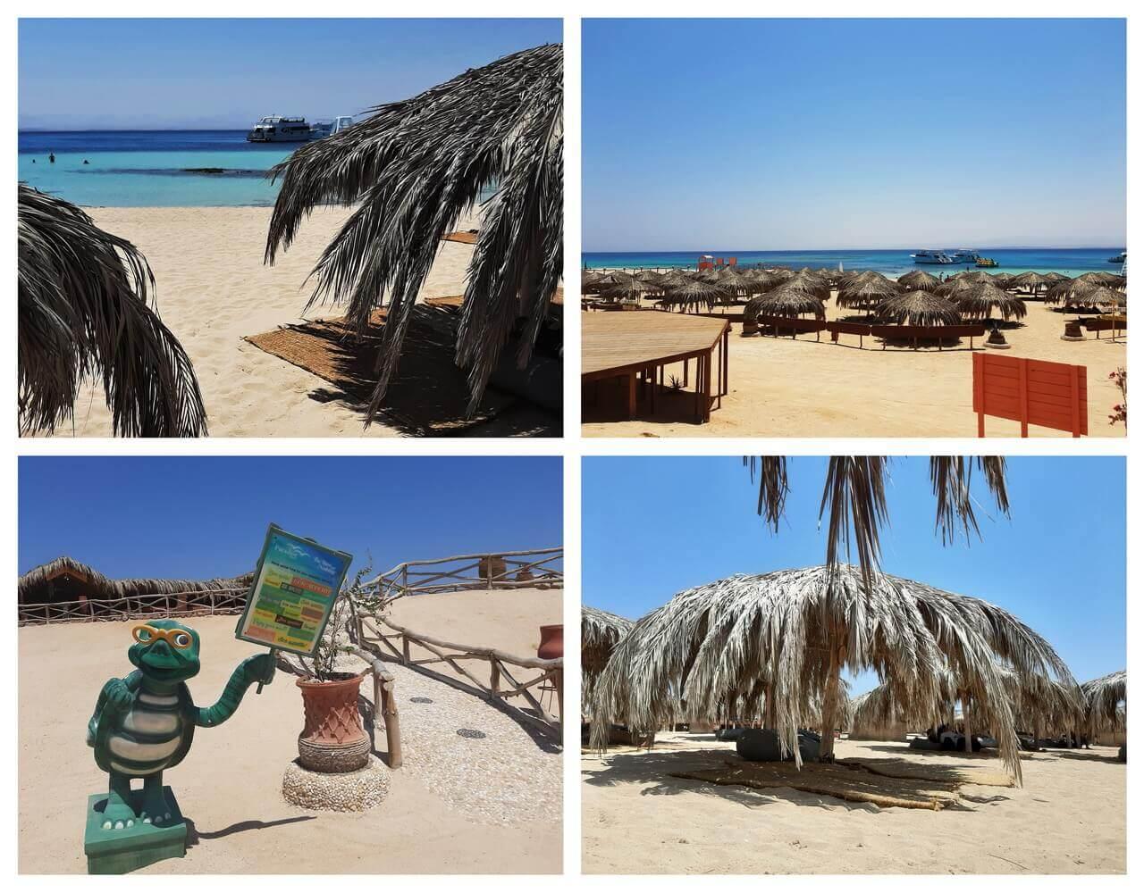 Paradise island beach, Giftun, Hurghada