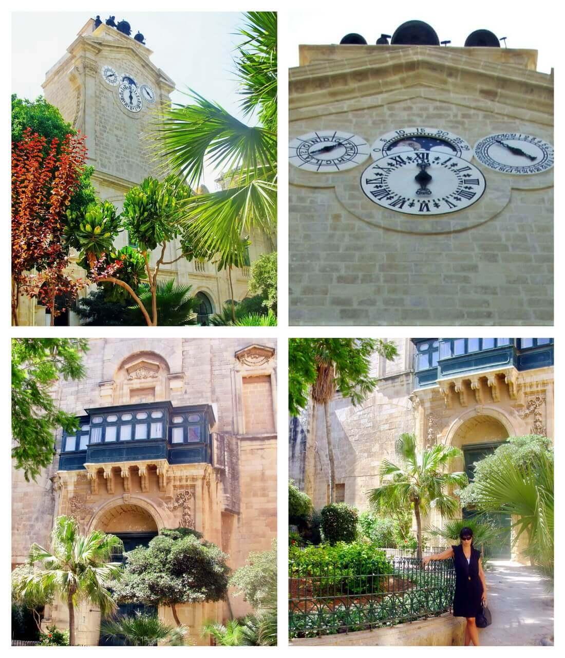 Grand Master's Palace, Pinto's clock, Valletta