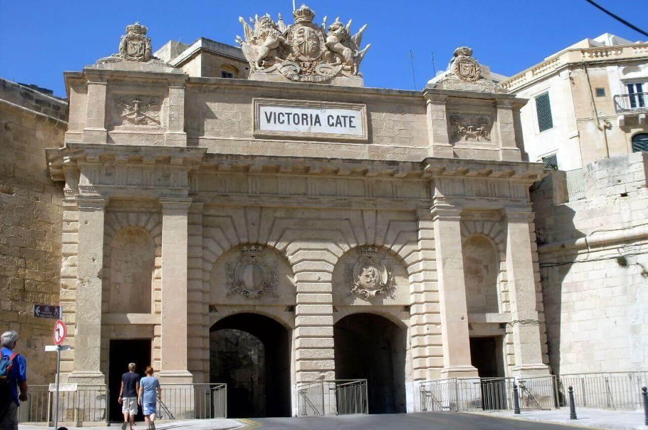 Valletta, Victoria gate