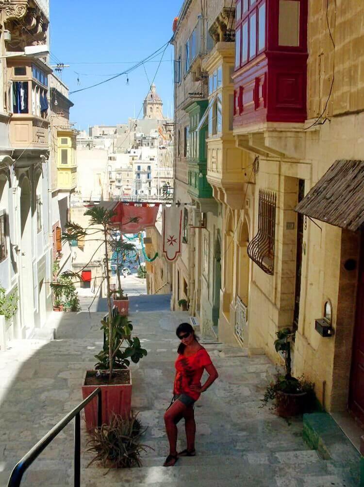 Senglea street, Three Cities, Tri grada