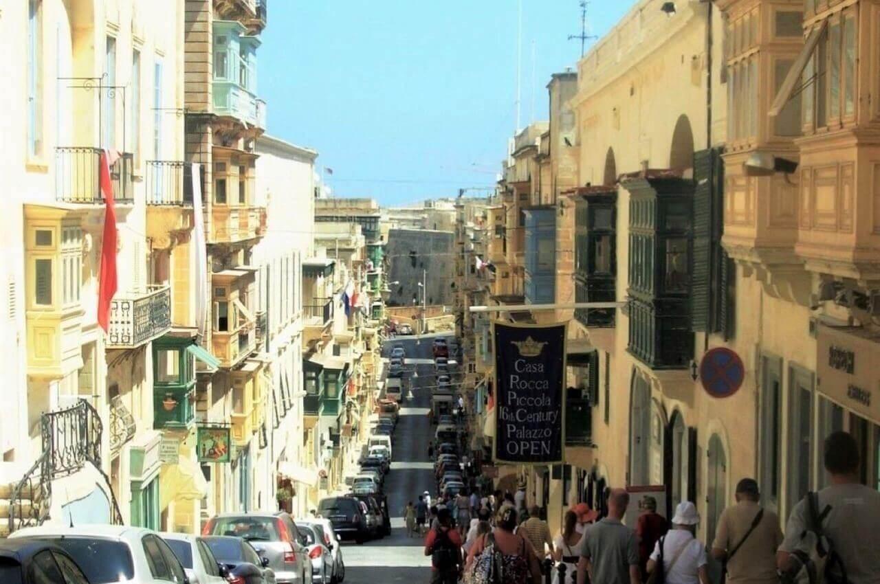Valletta, Republic street, Casa Rossa Piccola