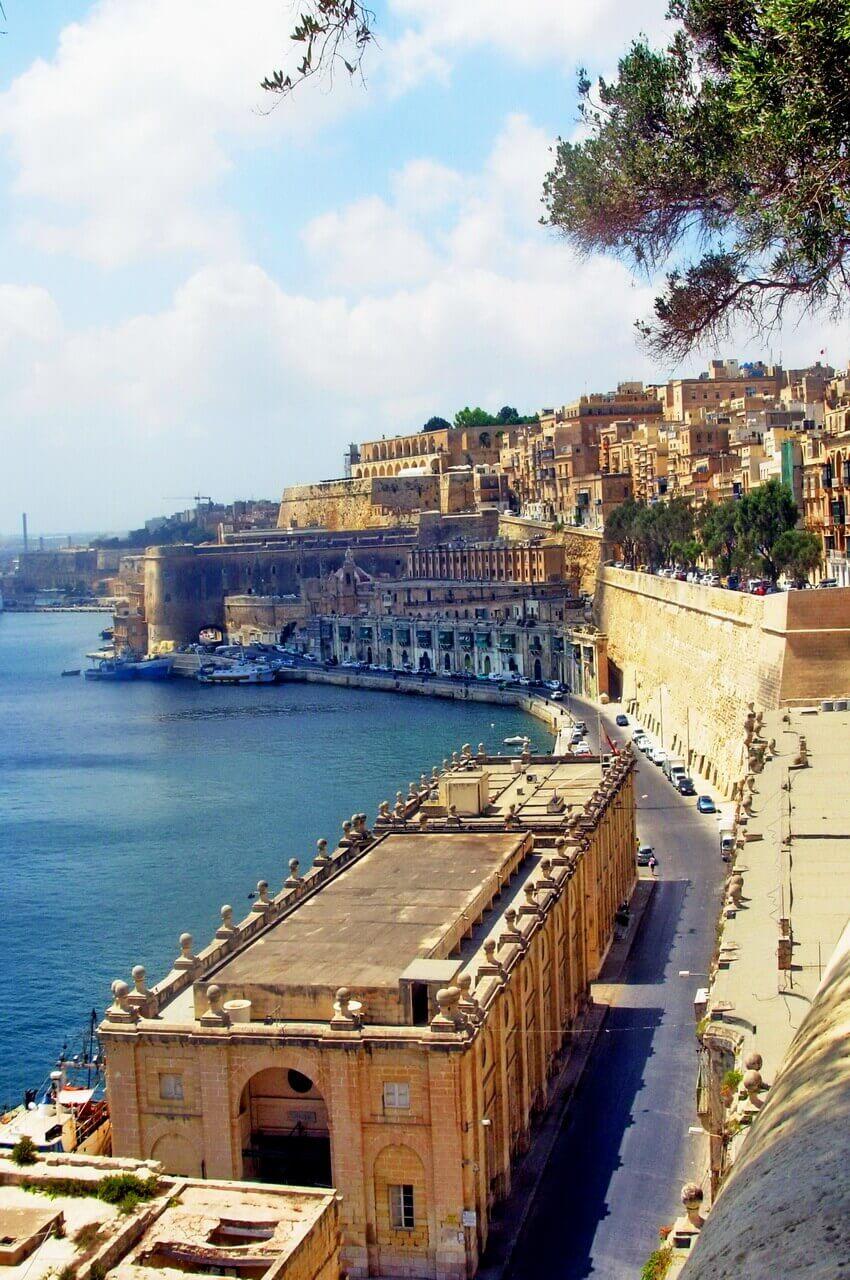 St. Barbara ramparts, Valletta