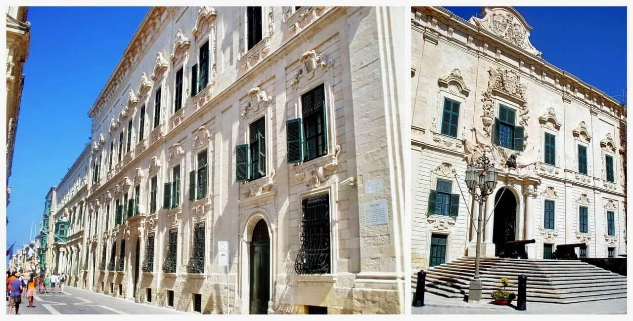 Valletta, Auberge de Castille