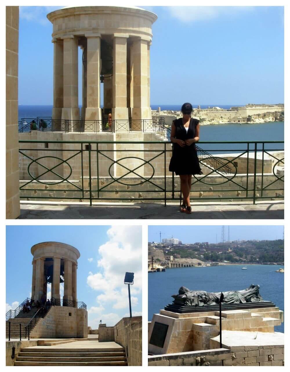 The Siege Bell War Memorial, Valletta