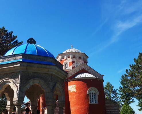 Manastir Žiča, Monastery Žića