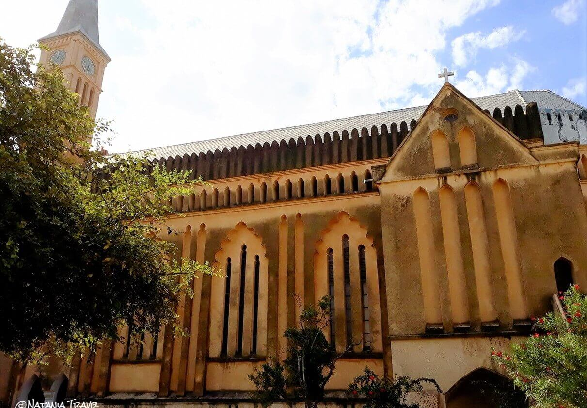 Anglican Christ Cathedral, Stone Town, Slave market