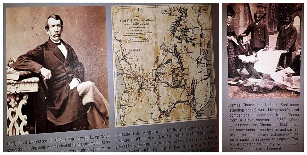 Dr David Livingstone, an anti-slavery activist