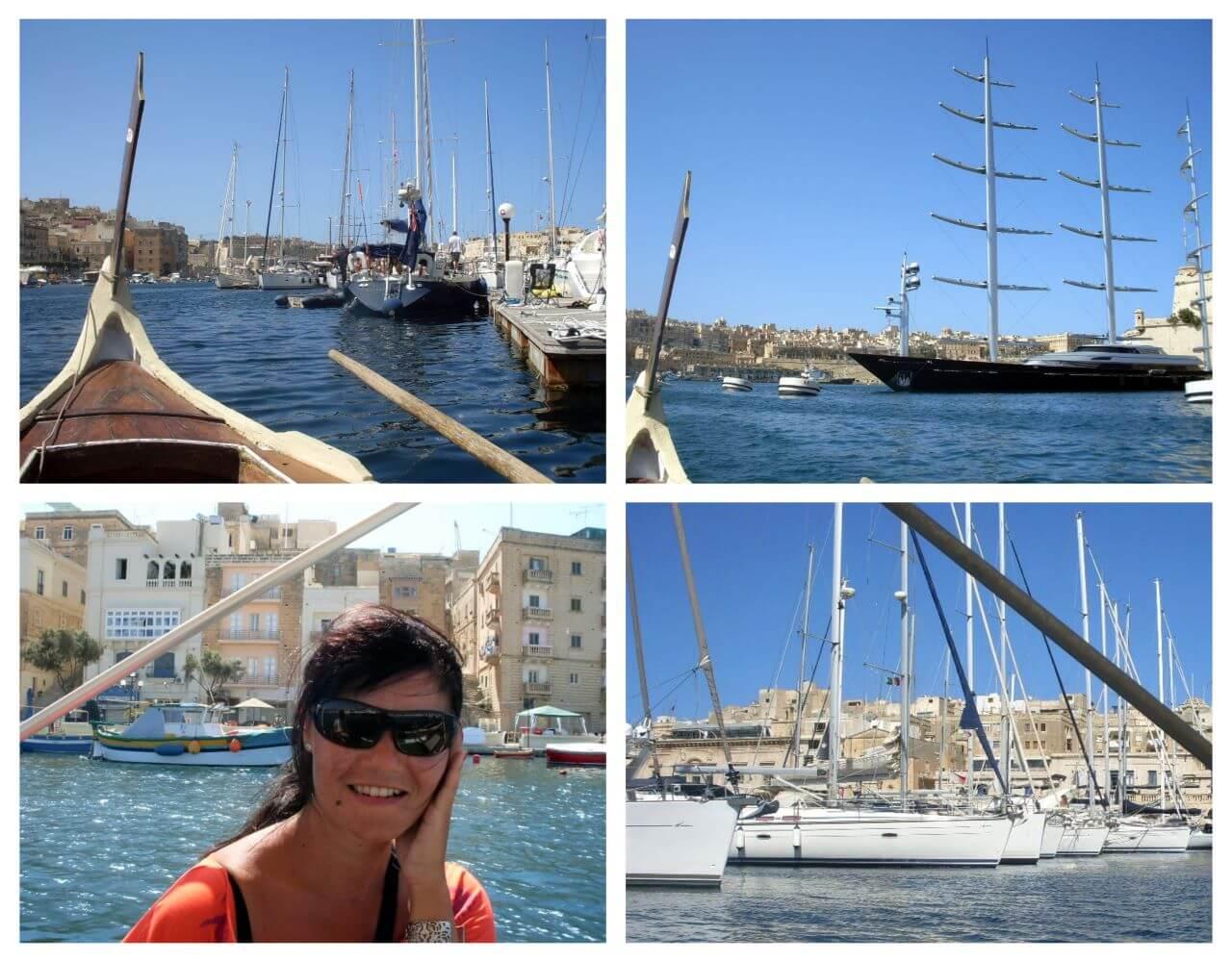 Grand Harbour, Valletta, Malta, Velika luka, Three Cities