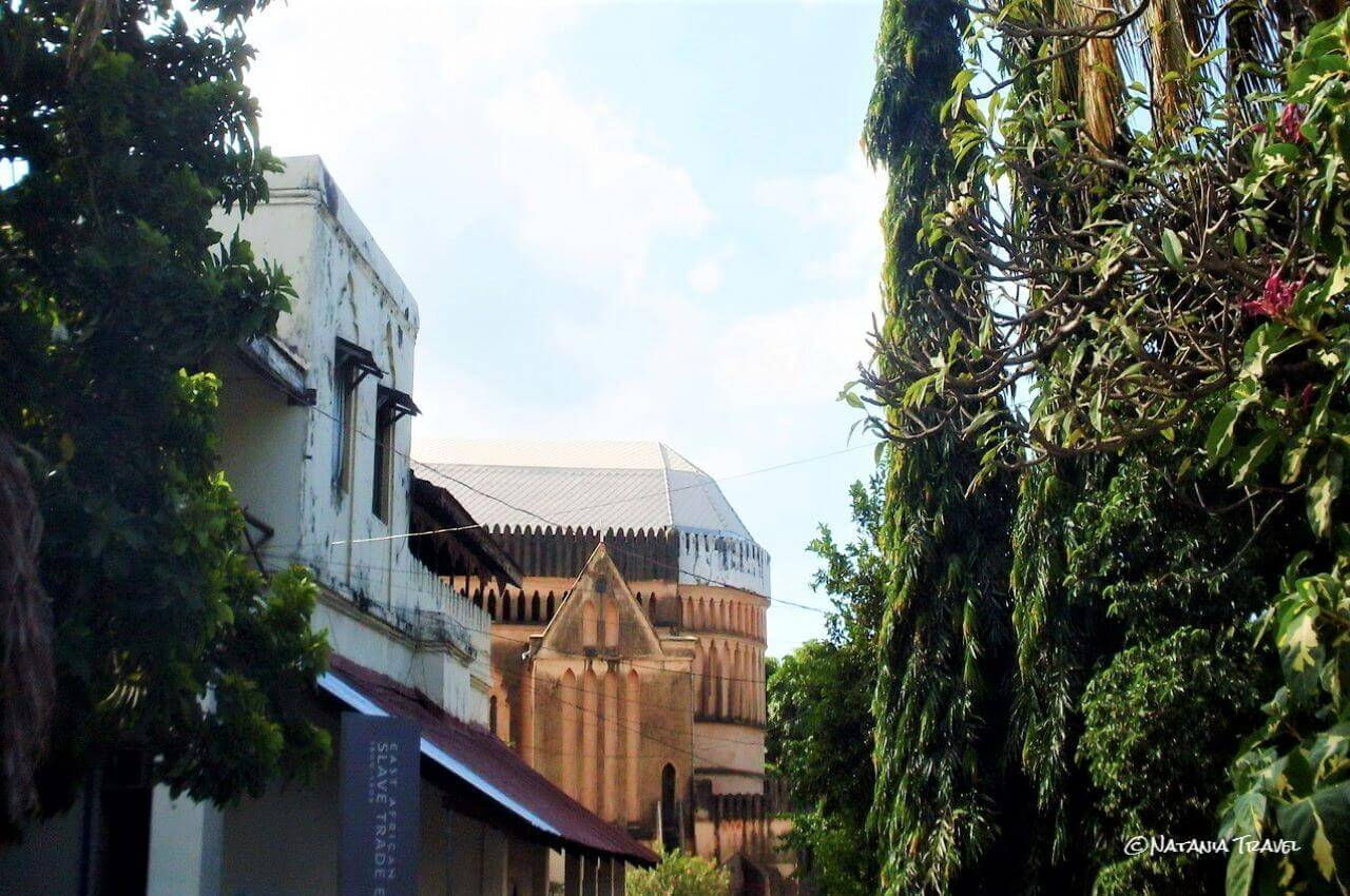 Anglican Cathedral, and Memorial Slave centre, Stone Town