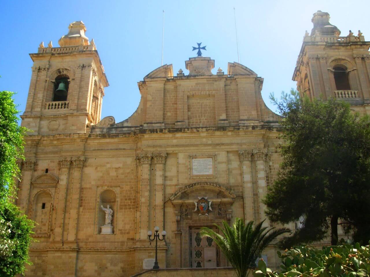 Vittoriosa, Church St Lawrence