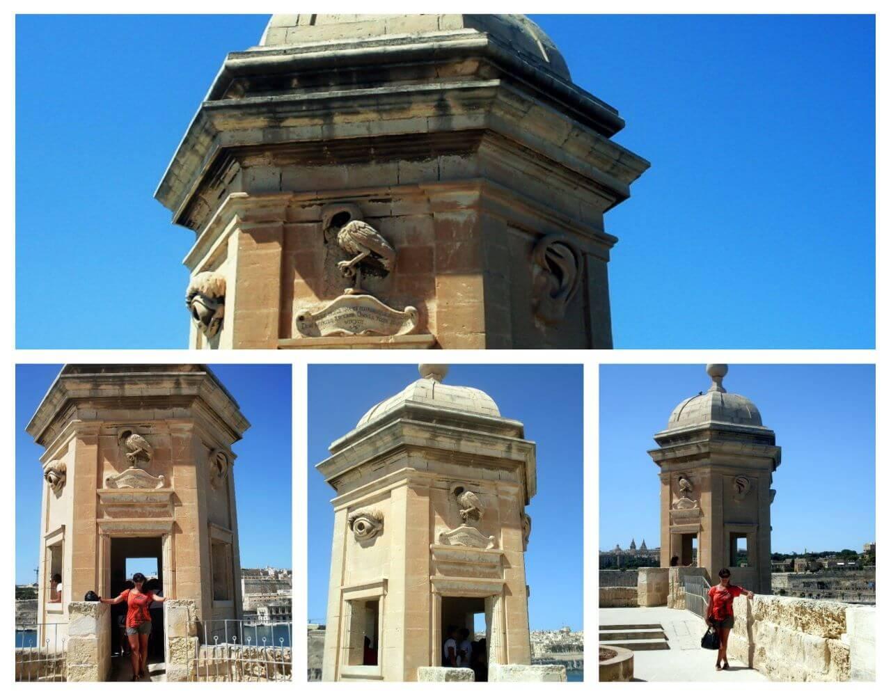 Gardjola watchtower, Senglea, Three cities, Malta, Tri grada