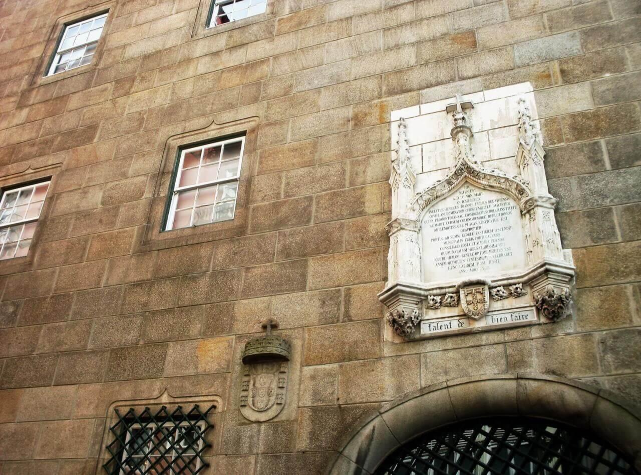 Porto, house of Henry the Navigator ok