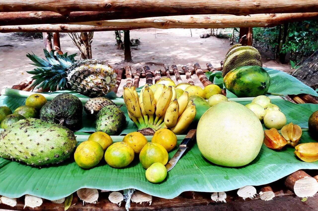 Tropical fruits, Zanzibar