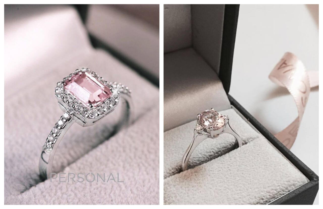 Personal, ring with morganite