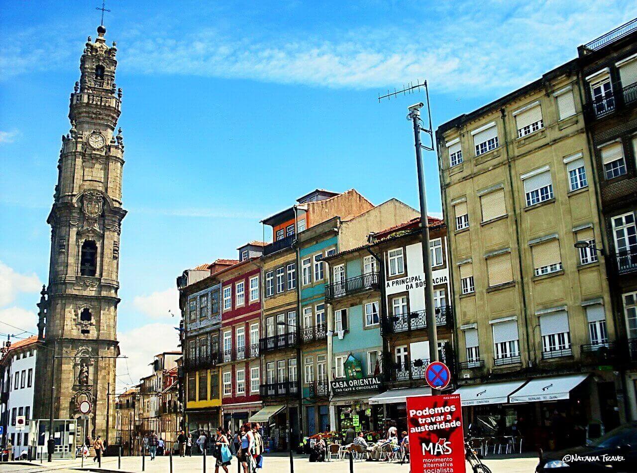 Porto, Clerigos church and tower