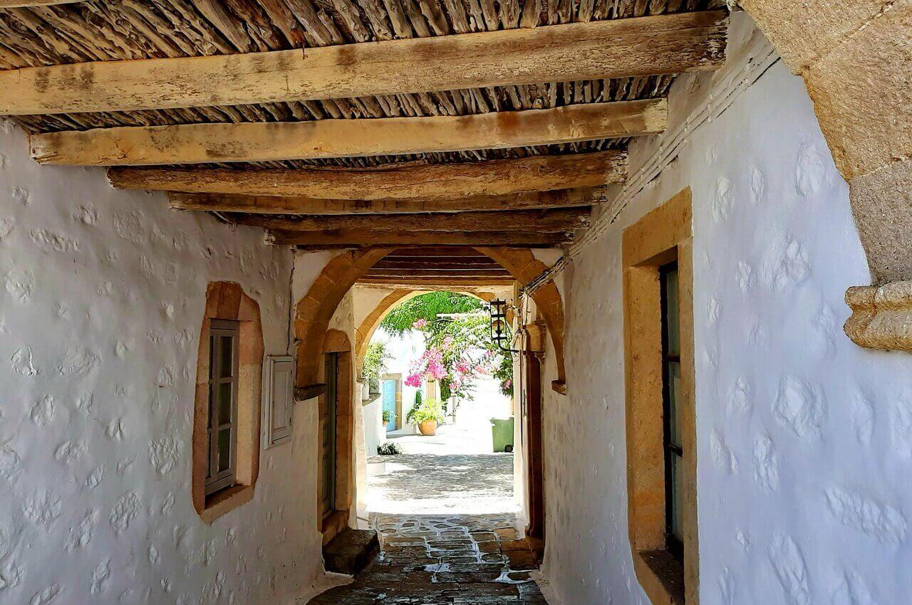 Wandering Patmos alley