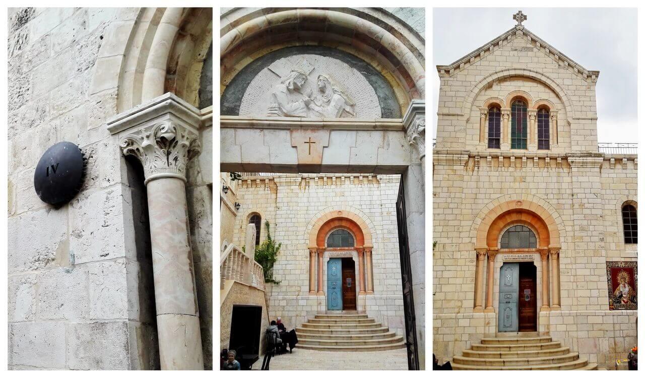 Via Dolorosa, IV station, Jerusalem