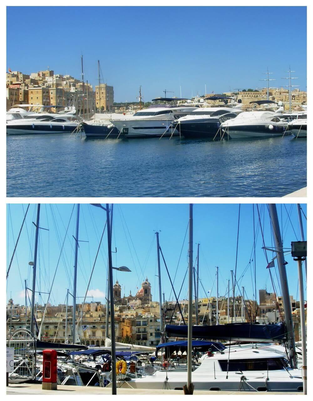 Grand harbour, Vittoriosa, Malta, Three Cities, Tri grada