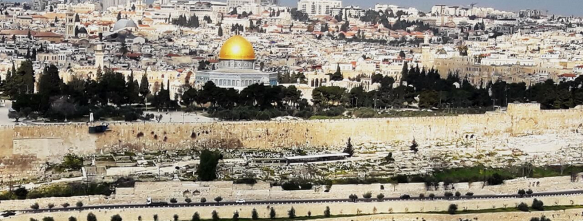 Panoramic view of Jerusalem