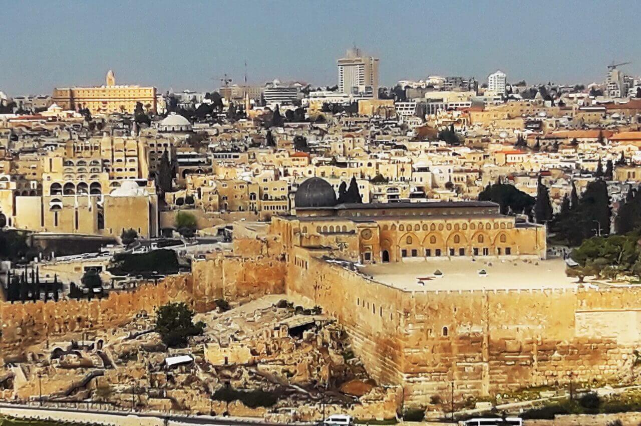 Silver-domed mosque Al-Aqsa