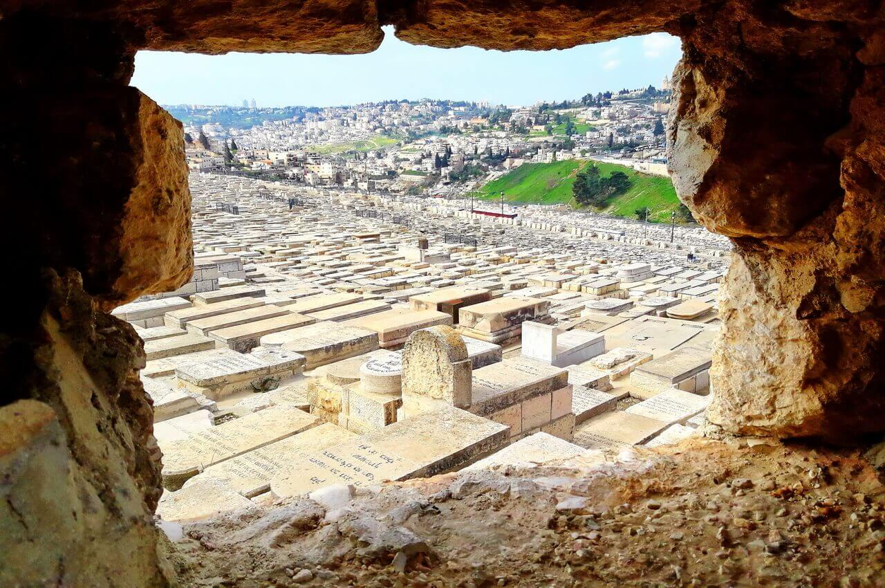 The Jewish Cemetery on the Mount of Olives, Jerusalem