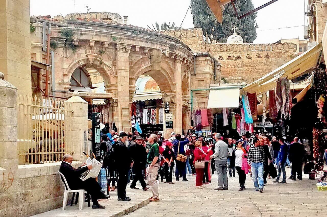 Jerusalem ,Christian quarter