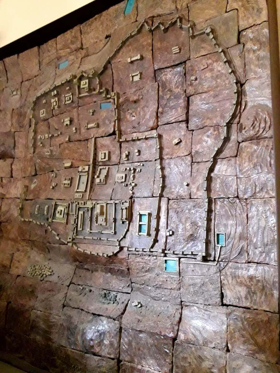 Old map of Jerusalem
