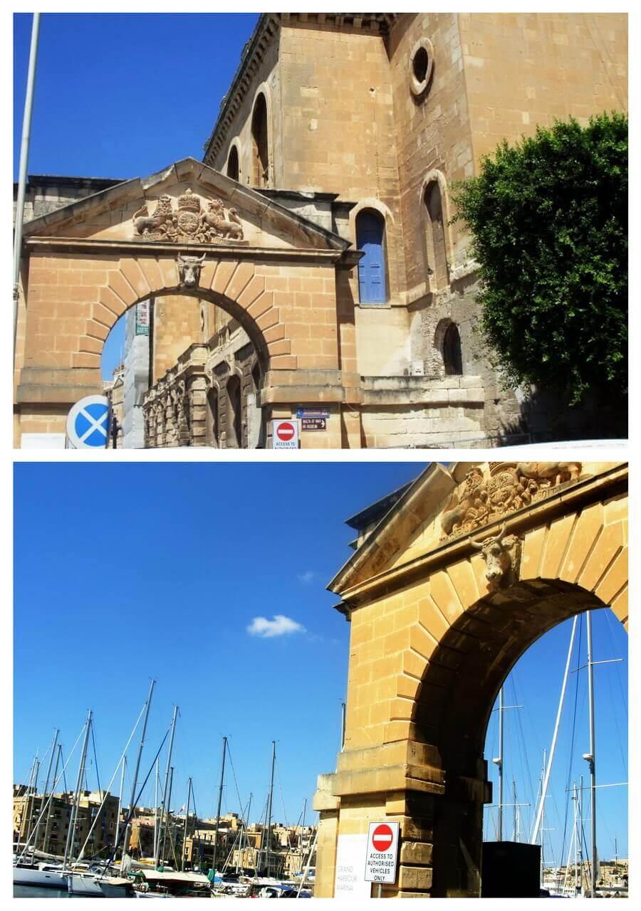 Marina entrance, Birgu, Three Cities, Tri grada