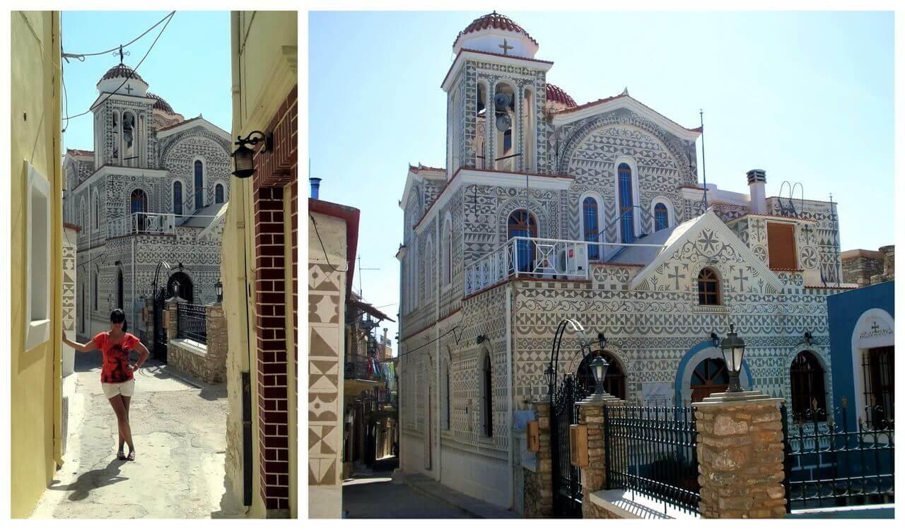 The church Theotokou, Pyrgi
