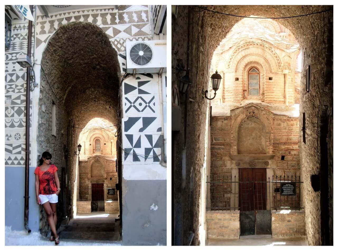 Pyrgi, the Church of Agioi Apostoloi