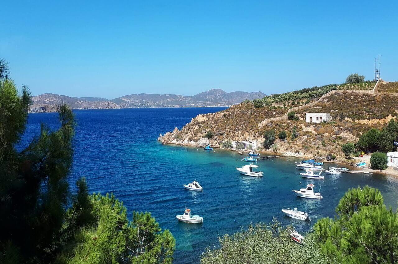 Patmos coast