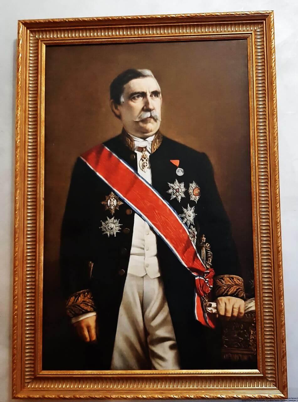 The portrait of Jevrem Grujić