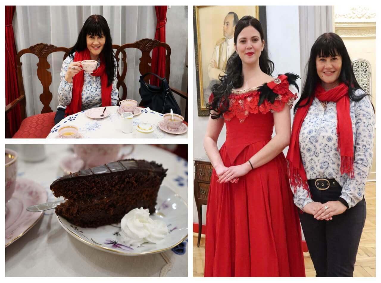 Tea party with Queen Natalia, exhibition