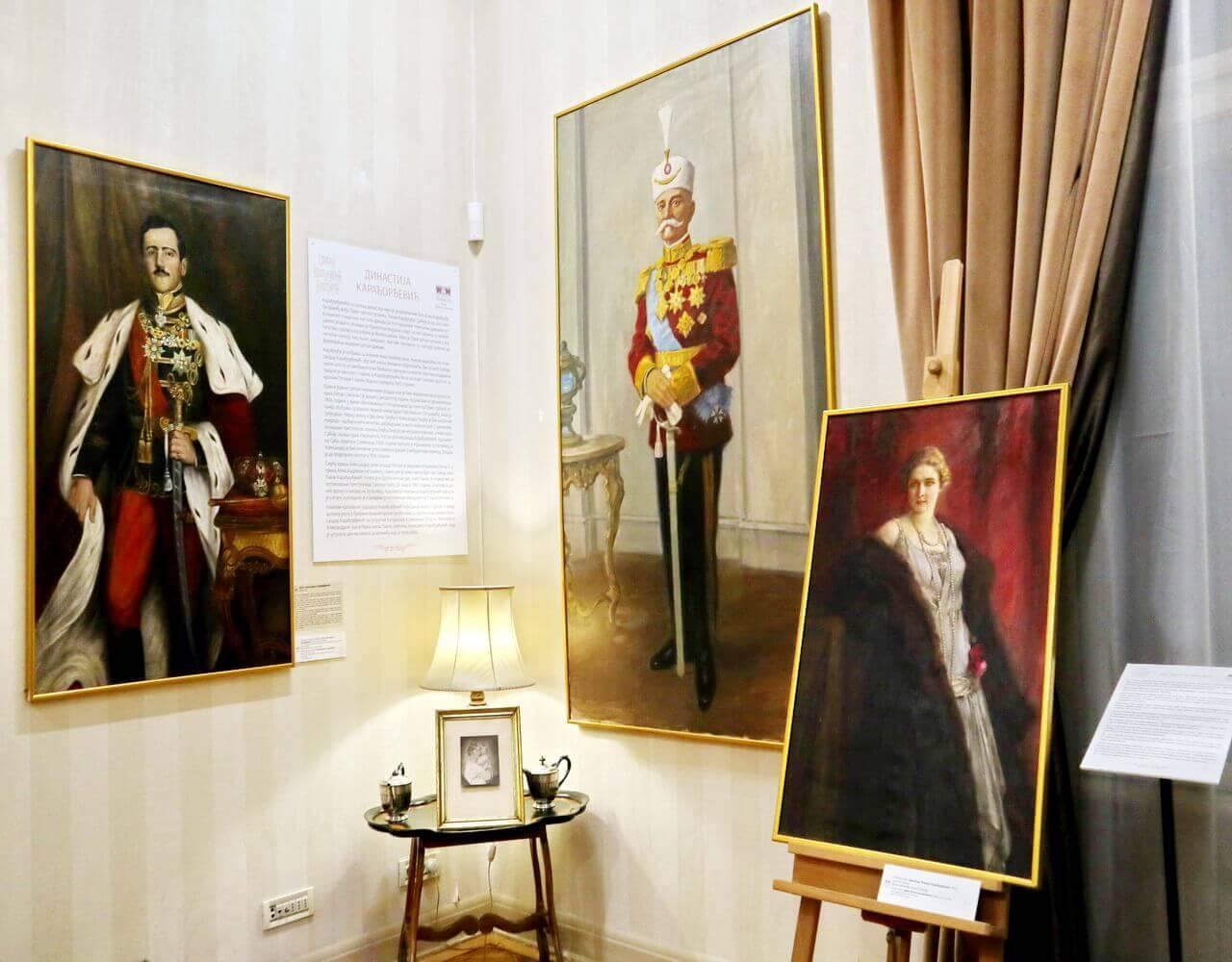 Karadjordjevic dynasty: King Alexander I, King Peter I and Queen Maria