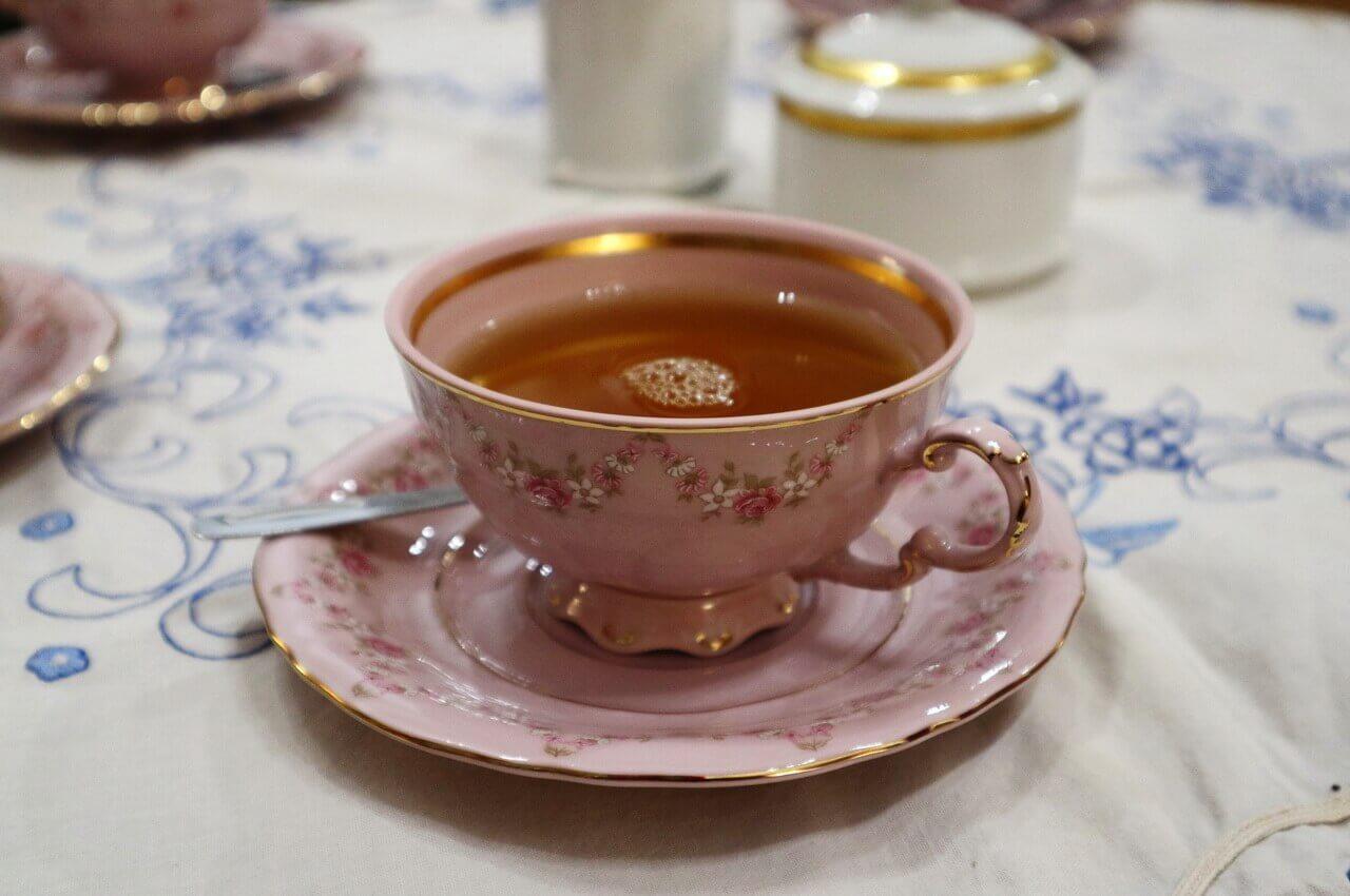 Tea party, exhbition