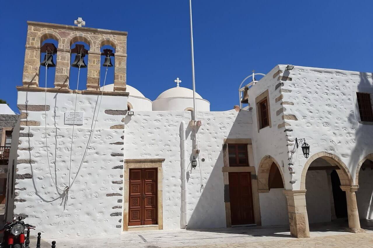 Little church in Skala, Patmos