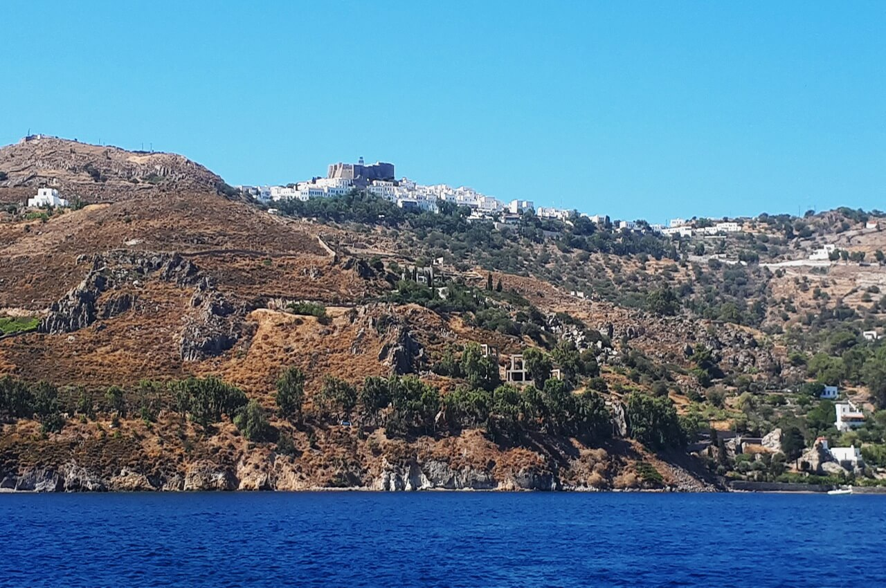 Patmos, a view from the sea