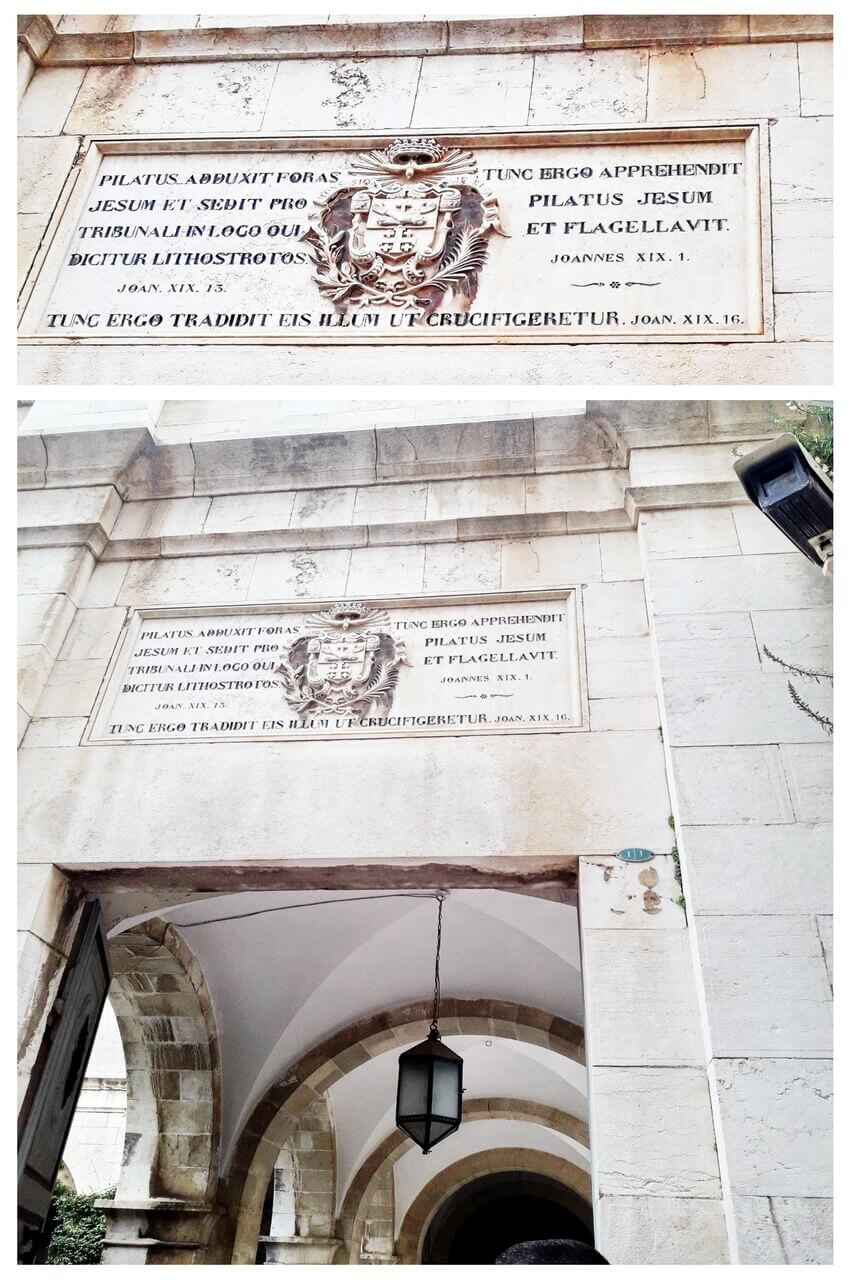 Via Dolorosa, I Station
