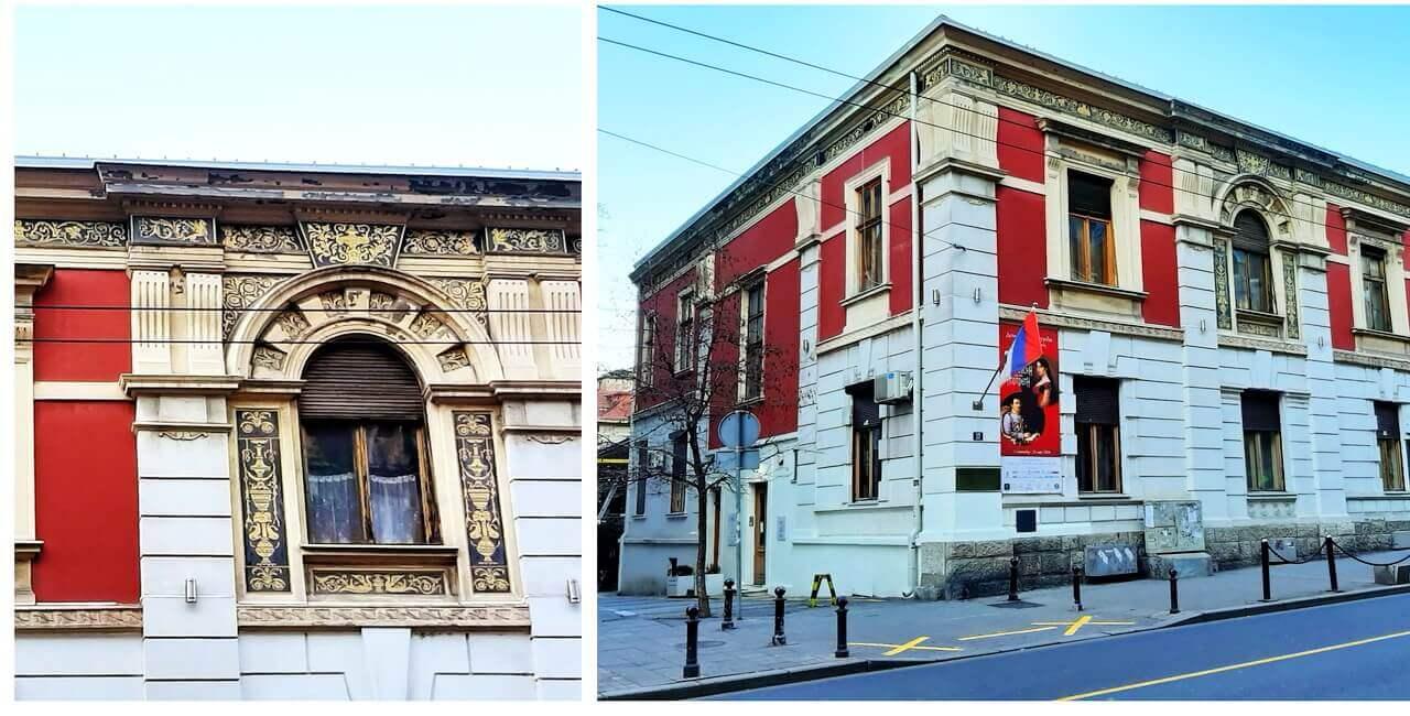 The house of Jevrem Grujić, Belgrade, exhibition