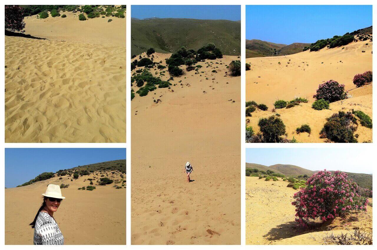 Ammothines sand desert, Lemno