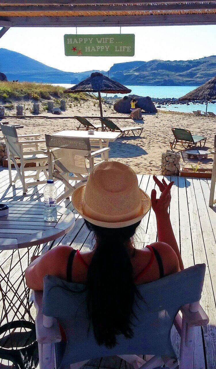 Thanoos beach, Limnos