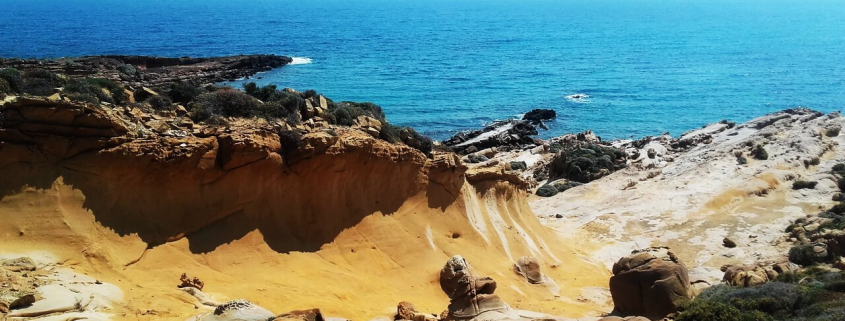 Lemnos, Faraklo volcanic rocks