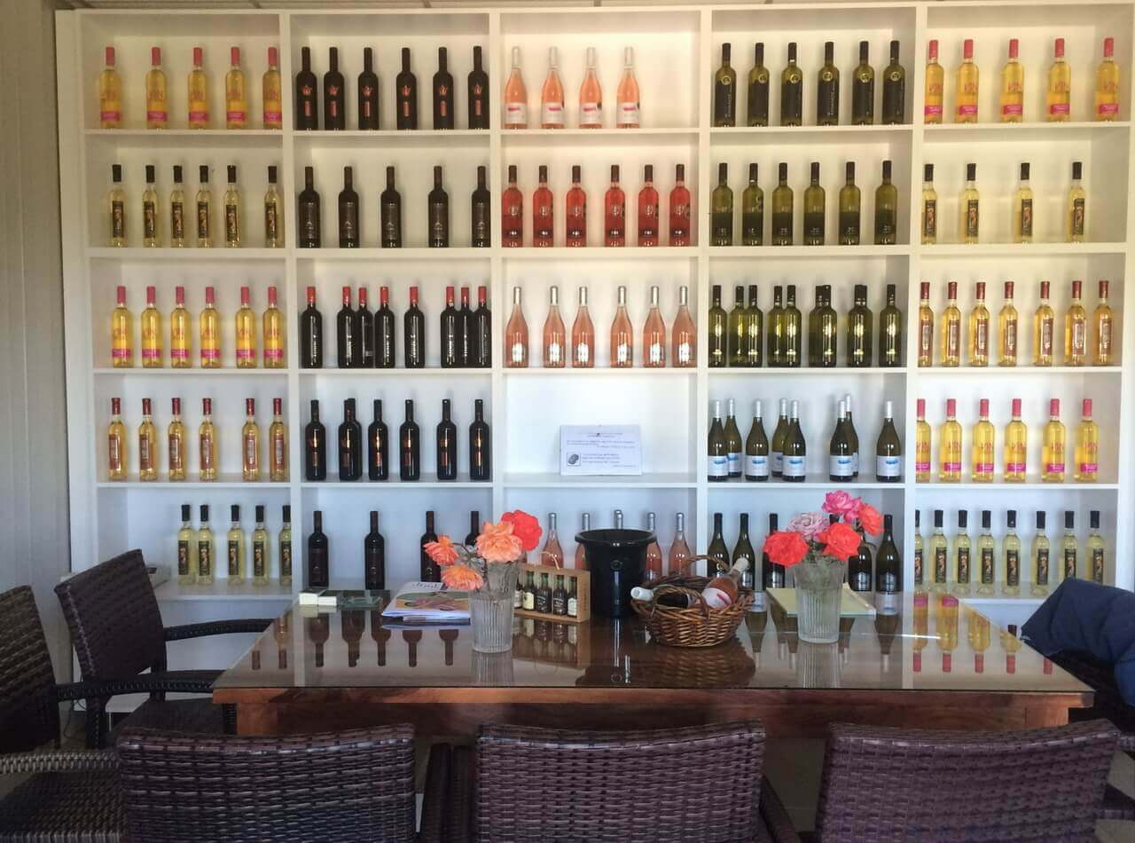 Limnos Organic wines winery