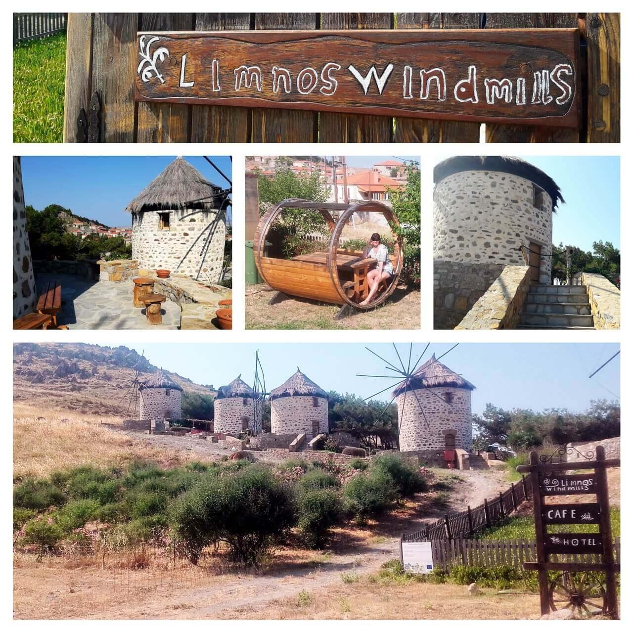 Limnos Windmills