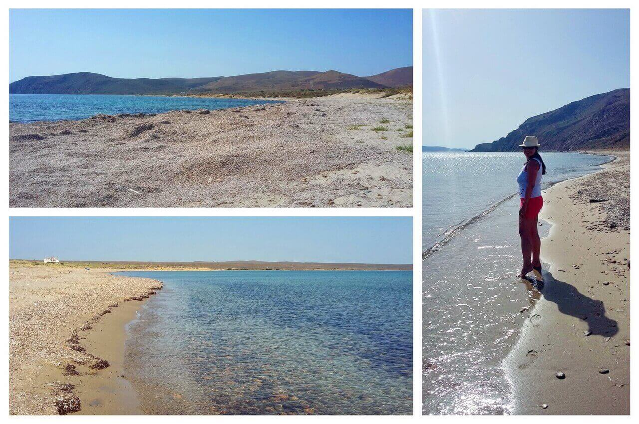 Parthenomytos beach and Skidi beach